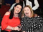 Suzanne Gilsenan and Mary McEvoy at the Bagatelle 40th anniversary show in The TLT. Photo:Colin Bell/pressphotos.ie
