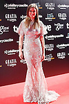 Actress Manuela Velles attends Goya Cinema Awards 2014 red carpet at Centro de Congresos Principe Felipe on February 9, 2014 in Madrid, Spain. (ALTERPHOTOS/Victor Blanco)