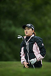 Hye In Yeom of South Korea tees off during Round 1 of the World Ladies Championship 2016 on 10 March 2016 at Mission Hills Olazabal Golf Course in Dongguan, China. Photo by Victor Fraile / Power Sport Images