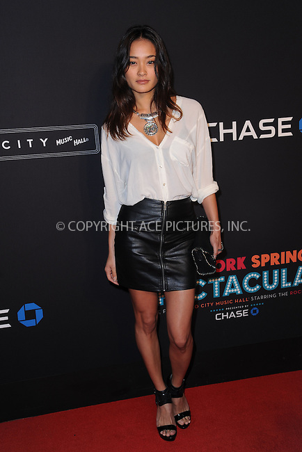 WWW.ACEPIXS.COM<br /> March 26, 2015 New York City<br /> <br /> Jarah Mariano attending the 2015 New York Spring Spectacular at Radio City Music Hall on March 26, 2015 in New York City.<br /> <br /> Please byline: Kristin Callahan/AcePictures<br /> <br /> ACEPIXS.COM<br /> <br /> Tel: (646) 769 0430<br /> e-mail: info@acepixs.com<br /> web: http://www.acepixs.com