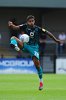 Kyle Naughton of Swansea City in action during the pre season friendly match between Exeter City and Swansea City at St James Park in Exeter, England, UK. Saturday, 20 July 2019