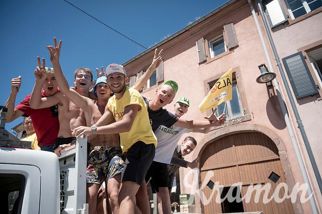 roadside fans<br /> <br /> Stage 5: Saint-Dié-des-Vosges to Colmar(175km)<br /> 106th Tour de France 2019 (2.UWT)<br /> <br /> ©kramon