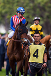 ARCADIA, CA - FEBRUARY 10: All out Blitz and Tyler Baze at the San Vicente Stakes at Santa Anita Park on February 10, 2018 in Arcadia, California. (Photo by: Alex Evers/Eclipse Sportswire/Getty Images)