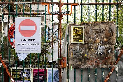 Genève, le 28.10.2008.portail d'entrée du site d'Artamis, située au quai du rhône..© Le Courrier / J.-P. Di Silvestro