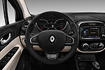Car pictures of steering wheel view of a 2017 Renault Capture Initiale-Paris 5 Door SUV Steering Wheel