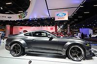 SÃO PAULO, 08.11.2018  - SALAO DO AUTOMOVEL  - Ford Shelby Mustang exibidos na 30ª edição do Salão do Automóvel nesta quarta-feira (08) no São Paulo Expo, zona sul da capital paulista.<br /> (Foto: Fabricio Bomjardim / Brazil Photo Press)