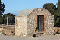 Wine Grower's Shed, Roman city of Empuries, 1st century AD, Sant Marti d´Empuries, Girona, Spain. Picture by Manuel Cohen