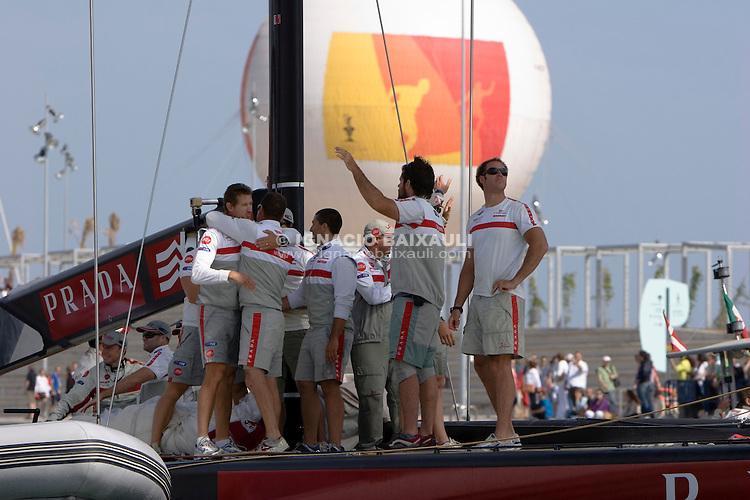 Luna Rossa Challenge -  - LOUIS VUITTON CUP - SEMIFINALS - MATCH 6 - 2007 may 20