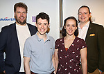 Cast from 'The Play That Goes Wrong' attends the 83rd Annual Drama League Awards Ceremony  at Marriott Marquis Times Square on May 19, 2017 in New York City.
