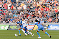 Bridgeview, IL - Saturday June 18, 2016: Kyah Simon during a regular season National Women's Soccer League (NWSL) match between the Chicago Red Stars and the Boston Breakers at Toyota Park.