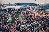 first lap of the Men's Elite race<br /> <br /> UCI 2019 Cyclocross World Championships<br /> Bogense / Denmark<br /> <br /> ©kramon