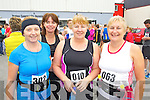 Gina Barrett (Doon) Mary Fitzmaurice (Doon) Carnelita Ryan (Mounthawk) and Margaret Atkinson (Cloghers) pictured at the Carers 10k run on Sunday.
