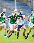 XXjob 06/05/2015 SPORT<br /> Limerick Kyle Hayes &amp; Waterford's JP Lucey in Action during their 2015 Electric Ireland Munster GAA Hurling Minor Championship.<br /> Picture  Credit Brian Gavin Press 22