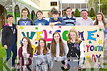 Beaufort Youth club members who attended the KDYS youth day in the INEC on Sunday front row l-r: Saoirse Clifford, Olivia Brosnan, Rachel O'Connor, Sinead O'Connell. Back row: Rose Mangan, Ciarán Kelly, Liam O'Connor, Pat Cuff, Ronan Curran, William Joy