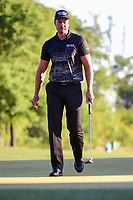 Henrik Stenson (SWE) follows his putt on 10 during round 2 of the Shell Houston Open, Golf Club of Houston, Houston, Texas, USA. 3/31/2017.<br /> Picture: Golffile | Ken Murray<br /> <br /> <br /> All photo usage must carry mandatory copyright credit (&copy; Golffile | Ken Murray)