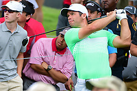 Paul Casey (GBR) watches his tee shot on 3 during round 4 of the Dean &amp; Deluca Invitational, at The Colonial, Ft. Worth, Texas, USA. 5/28/2017.<br /> Picture: Golffile | Ken Murray<br /> <br /> <br /> All photo usage must carry mandatory copyright credit (&copy; Golffile | Ken Murray)
