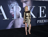 Bella Heathcote at the premiere of &quot;Fifty Shades Darker&quot; at the Theatre at the Ace Hotel, Los Angeles, USA 18th January  2017<br /> Picture: Paul Smith/Featureflash/SilverHub 0208 004 5359 sales@silverhubmedia.com