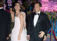 Charlotte Casiraghi & boyfriend Gad Elmaleh 1st official appearance together -  Monaco
