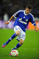 FUSSBALL   1. BUNDESLIGA   SAISON 2012/2013   5. SPIELTAG FC Schalke 04 - FSV Mainz 05                               25.09.2012        Tranquillo Barnetta (FC Schalke 04) Einzelaktion am Ball