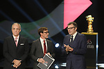 Presentation of the Grand Start of the 102nd edition of the Giro d'Italia 2019 held in the RAI TV studios, Milan, Italy. 31st October 2018.<br /> Picture: LaPresse/Fabio Ferrari | Cyclefile<br /> <br /> <br /> All photos usage must carry mandatory copyright credit (&copy; Cyclefile | LaPresse/Fabio Ferrari)