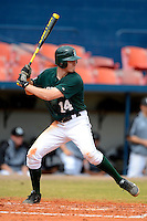Dartmouth Big Green infielder Trent Goodrich (14) during a game against the Long Island Blackbirds at Chain of Lakes Stadium on March 17, 2013 in Winter Haven, Florida.  Dartmouth defeated UAB 11-4.  (Mike Janes/Four Seam Images)