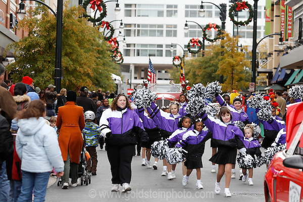 Thanksgiving Day parade 2007 in downtown Silver Spring MD a suburb of Washington DC.