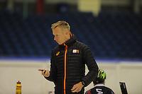 SCHAATSEN: HEERENVEEN: 02-10-2014, IJsstadion Thialf, Richard Louman, Topsporttraining shorttrack, ©foto Martin de Jong
