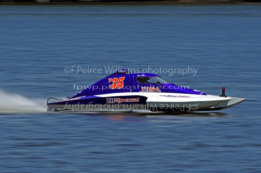John Shaw, Y-35  (1 Litre MOD hydroplane(s)