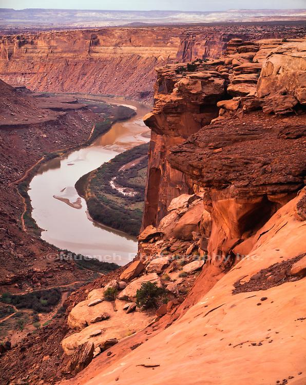 Labyrinth Canyon,Green River,Utah