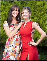 BNPS.co.uk (01202) 558833<br /> Picture: Peter Willows<br /> <br /> **exclusive/not online**<br /> <br /> Isabelle with her mum Lisa Papandronicou (47) <br /> <br /> Teenage amputee Isabelle Papandronicou has got a new prosthetic leg that has enabled her to wear heels for the first time, just in time for her school prom. Isabelle (15) from Barnet, London, chose to have her right leg amputated last year after several operations to fix a rare bone condition did not work. She has been wearing an NHS limb since then but has been limited to just flat shoes. After hearing about lifelike prosthetics that can be shaped to fit inside heeled footwear, her family started fundraising to get Isabelle a new leg. She has now been fitted with the &pound;5,633 leg by Dorset Orthopaedic in Ringwood, Hampshire, which she showcased at her year 11 leaver's ball.