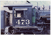 Right side detail of cab, power reverse, etc.<br /> D&amp;RGW  Durango, CO
