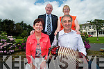 A charity dance will take place at Darby O'Gills on the August Bank Holiday Monday to raise funds for two local charities. .Front L-R Aileen Kelly (St Mary of the Angels Beaufort) and Cllr John Joe Culloty. .Back L-R Organisers John Joe Herlihy and Phyllis McLoughlin.