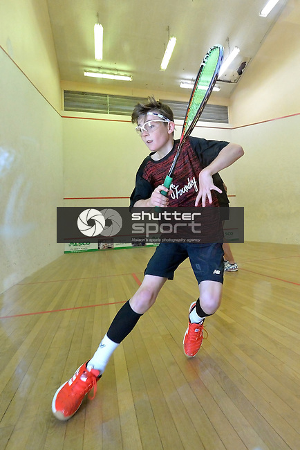 NELSON, NEW ZEALAND - March 4: Nelson Squash Open, Nelson Squash Club, Rutherford Park, Nelson, New Zealand. Saturday 4 March 2017. (Photo by: Barry Whittnall/Shuttersport Limited)