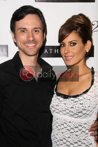 Josh Robert Thompson and Kerri Kasem<br /> at the Nathanaelle Fashion Show, Celebrity Center, Hollywood, CA&gt; 10-13-10<br /> David Edwards/DailyCeleb.com 818-249-4998