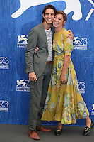 Actor Joseph Haro and actress Matilda Lutz poses during a photocall of the movie 'L'Estate Addosso' presented out of competition at the 73rd Venice Film Festival on August 31, 2016 at Venice Lido.<br /> CAP/GOL<br /> &copy;GOL/Capital Pictures /MediaPunch ***NORTH AND SOUTH AMERICAS ONLY***