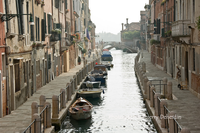 Fondamenta di ca Bala.(Venise, Octobre 2006)