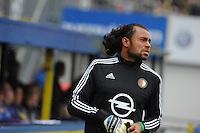 VOETBAL: LEEUWARDEN: 16-08-2015, SC Cambuur - Feyenoord, uitslag 0-2, Keeper Warner Hahn (#16), ©foto Martin de Jong