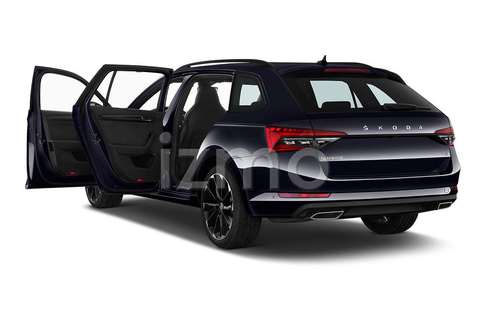 Car images of 2020 Skoda Superb-Combi Sportline 5 Door Wagon Doors