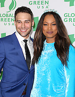 Hollywood, CA - February 22: Ryan Guzman, Garcelle Beauvais, At 14th Annual Global Green Pre Oscar Party, At TAO Hollywood In California on February 22, 2017. Credit: Faye Sadou/MediaPunch