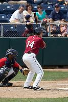 July 6, 2008: The Yakima Bears' Brendan Duffy at-bat during a Northwest League game against the Everett AquaSox at Everett Memorial Stadium in Everett, Washington.
