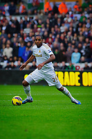 Sunday, 23 November 2012<br /> <br /> Pictured: Kemmy Augustien of Swansea City<br /> <br /> Re: Barclays Premier League, Swansea City FC v Manchester United at the Liberty Stadium, south Wales.