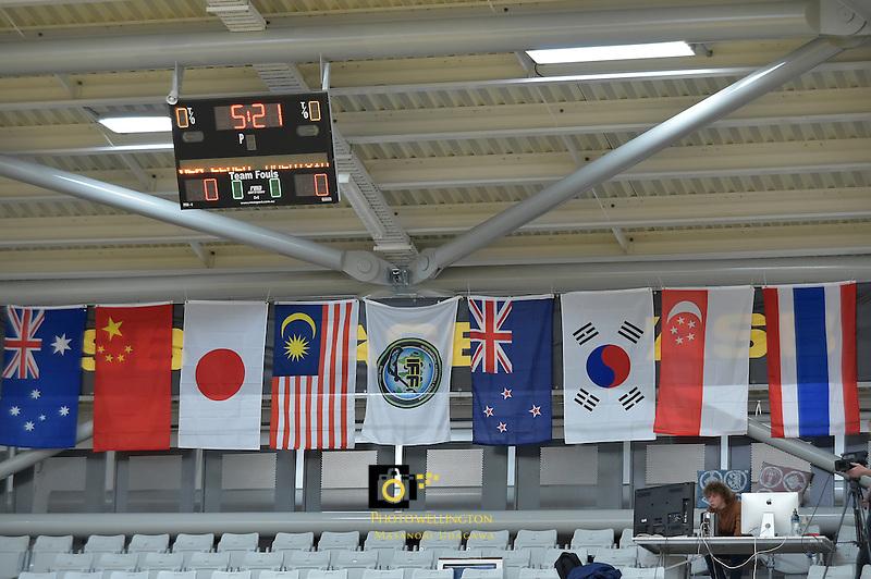 World Floorball Championships 2017 Qualification for Asia Oceania Region - New Zealand v Malaysia at ASB Sports Centre , Wellington, New Zealand on Saturday 4 February 2017.<br /> Photo by Masanori Udagawa<br /> www.photowellington.photoshelter.com.