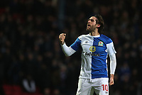 Blackburn Rovers' Danny Graham <br /> <br /> Photographer Rachel Holborn/CameraSport<br /> <br /> The EFL Sky Bet League One - Blackburn Rovers v Shrewsbury Town - Saturday 13th January 2018 - Ewood Park - Blackburn<br /> <br /> World Copyright &copy; 2018 CameraSport. All rights reserved. 43 Linden Ave. Countesthorpe. Leicester. England. LE8 5PG - Tel: +44 (0) 116 277 4147 - admin@camerasport.com - www.camerasport.com