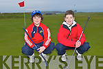 GOLF BROTHERS: Brothers Harry and Max Benner, The Spa enjoying a game of golf at Tralee Golf Club on Sunday..