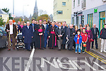 Bishop Bill Murphy accompanies the Papal Nuncio and family of Monsignor Hugh O'Flaherty on a walk down the road named after the monsignor in Killarney on Sunday    Copyright Kerry's Eye 2008