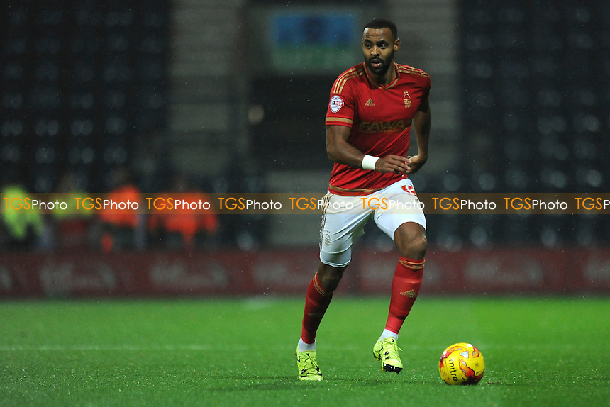 Liam Trotter of Nottingham Forest during Preston North End vs Nottingham Forest, Sky Bet Championship Football at Deepdale, Preston, England on 03/11/2015