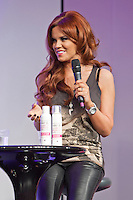 8th December 2012: Ex TOWIE star Maria Fowler promoting her new beauty range at Clothes Show Live 2012 at the NEC, Birmingham, UK