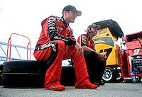 Sept. 19, 2008; Dover, DE, USA; Nascar Sprint Cup Series driver Kasey Kahne during practice for the Camping World RV 400 at Dover International Speedway. Mandatory Credit: Mark J. Rebilas-