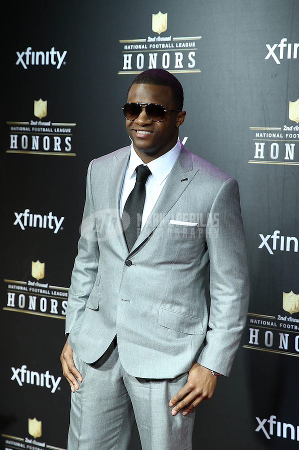 Feb. 2, 2013; New Orleans, LA, USA: Green Bay Packers wide receiver Randall Cobb on the red carpet prior to the Super Bowl XLVII NFL Honors award show at Mahalia Jackson Theater. Mandatory Credit: Mark J. Rebilas-USA TODAY Sports