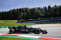 10th July 2020; Styria, Austria; FIA Formula One World Championship 2020, Grand Prix of Styria free practice sessions;  44 Lewis Hamilton GBR, Mercedes-AMG Petronas Formula One Team, Spielberg Austria